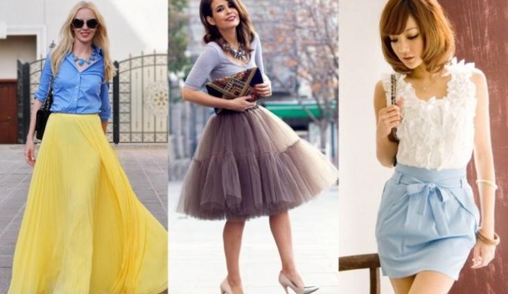 Какими бывают женские юбки?